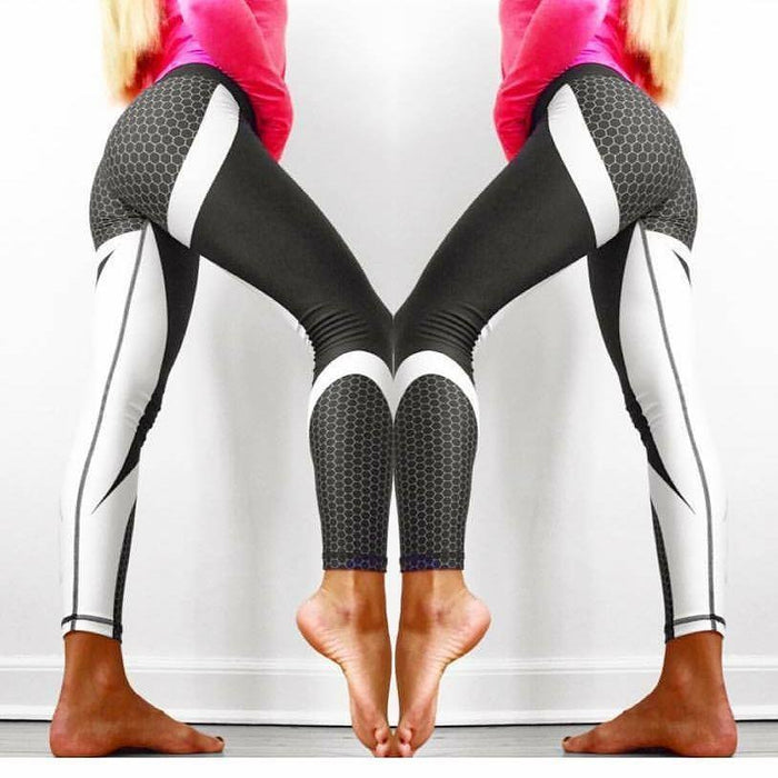 Mesh Pattern Women's Leggings