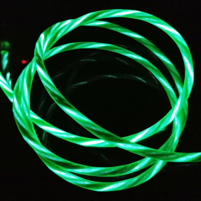 Charging LED Flowing Data Cable