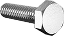 "1/4""-20 X 1"" Hex Head Cap Screw 316 Stainless Steel [Pack of 10]"