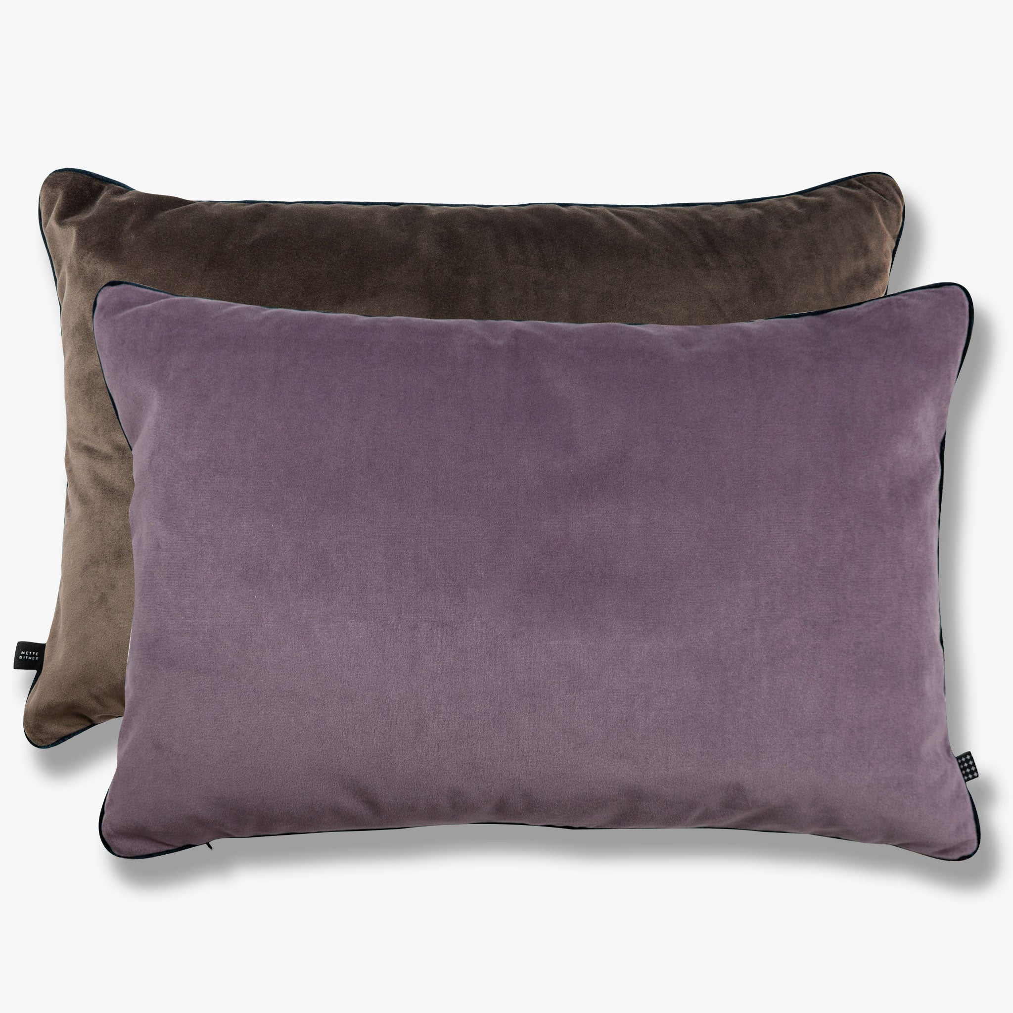 BLOCK Pude, lilac/brown