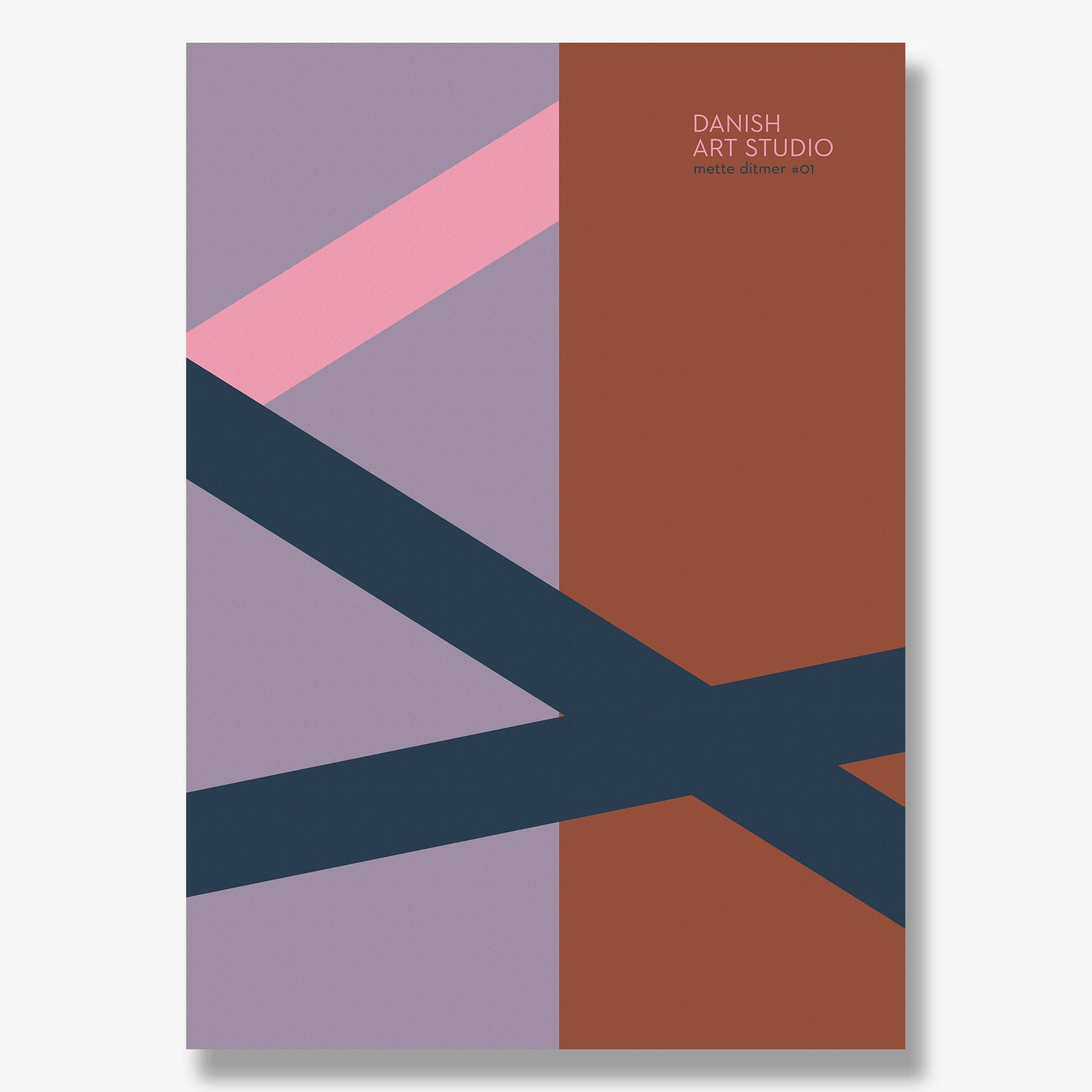 DANISH ART STUDIO #01 plakat