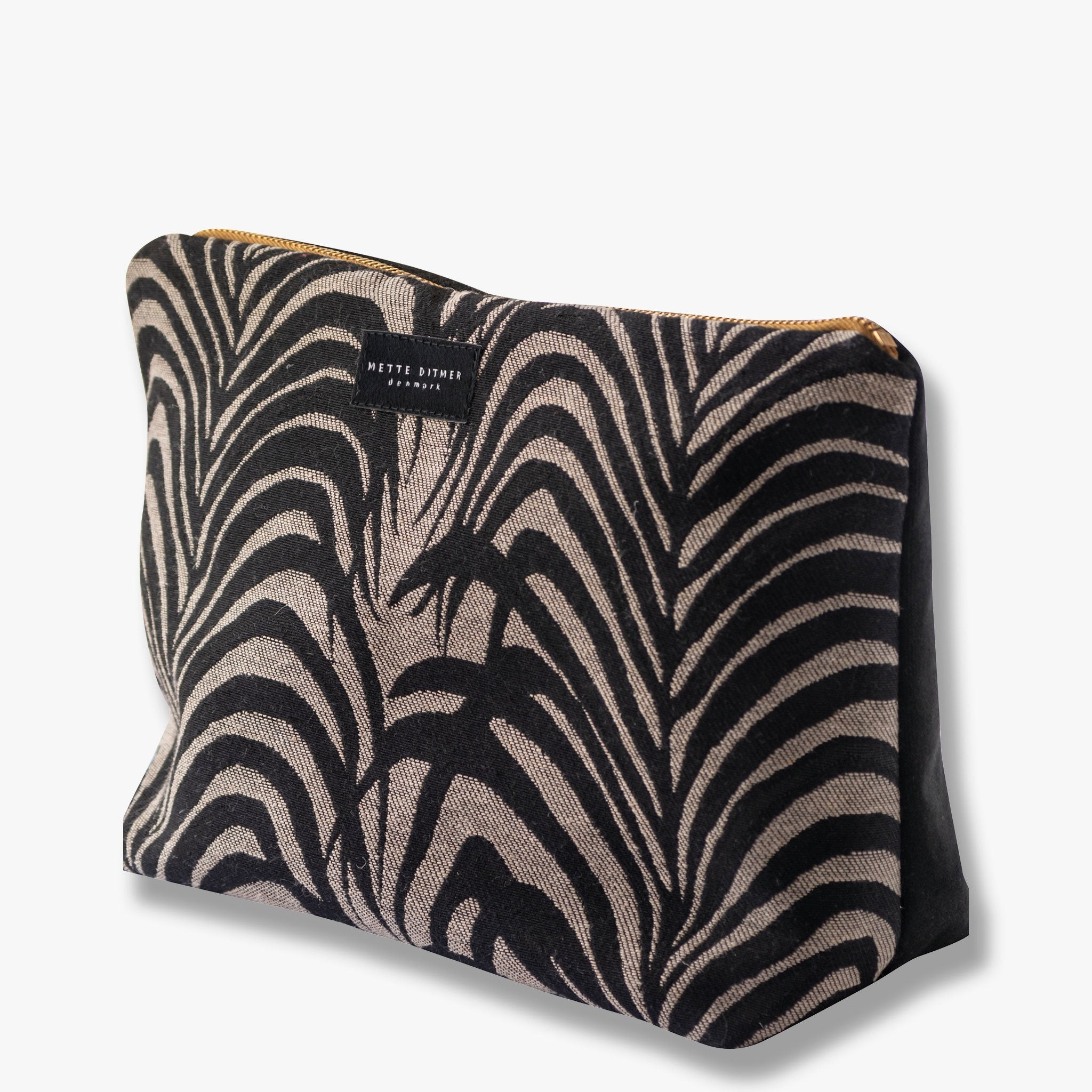 VENUS toilettaske, palm leaves/black