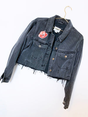 Boop Distressed Denim Jacket