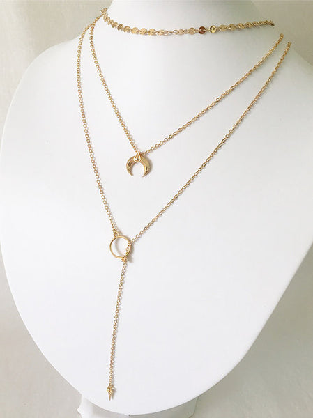 Stevie Triple Layered Necklace