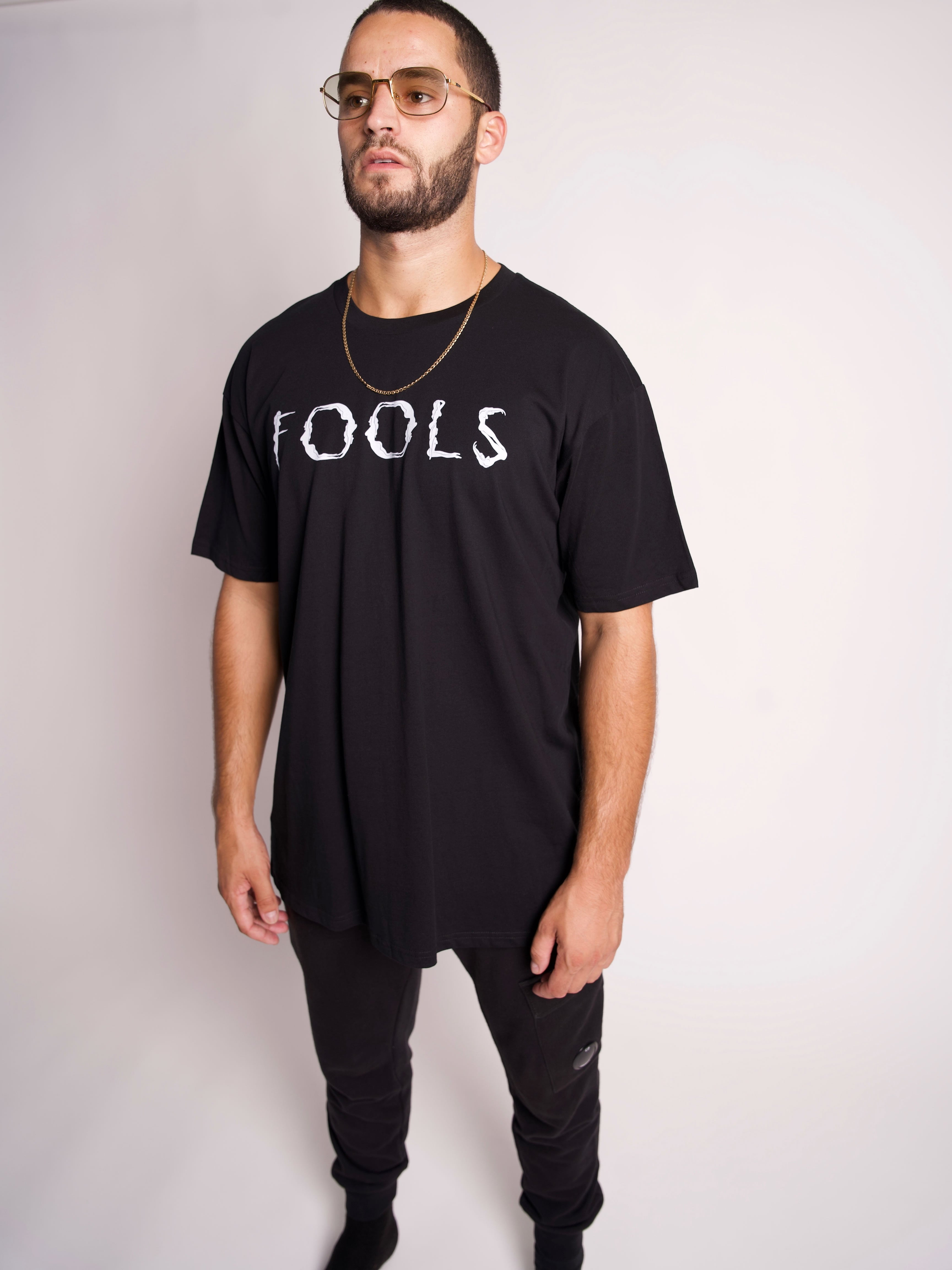 BLACK FOOL BODY TEE