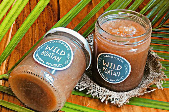 Wild Roatan Natural Exfoliants