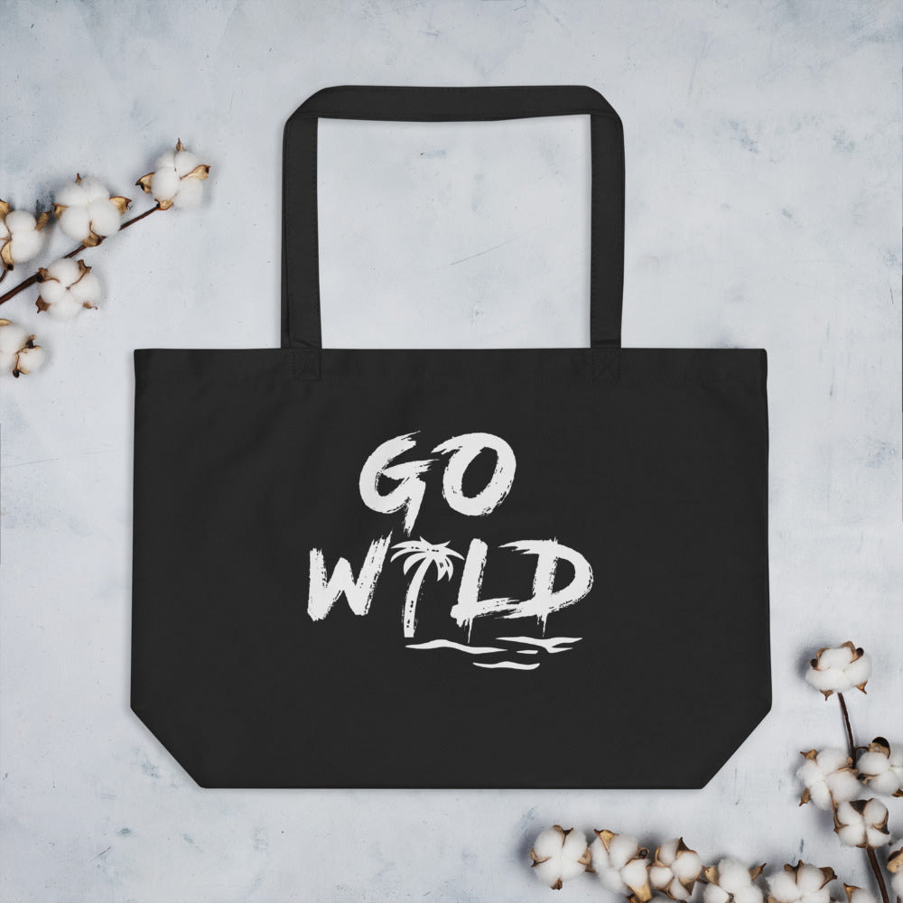 Go Wild - Large organic tote bag