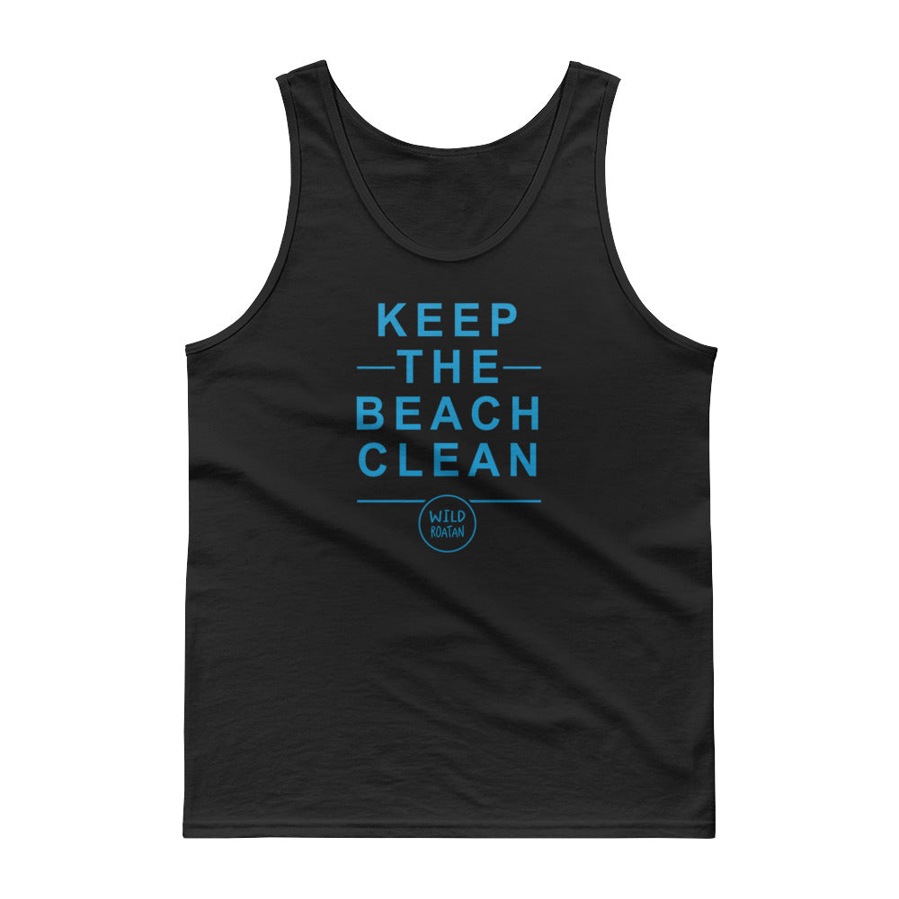 Keep the Beach Clean - Tank top