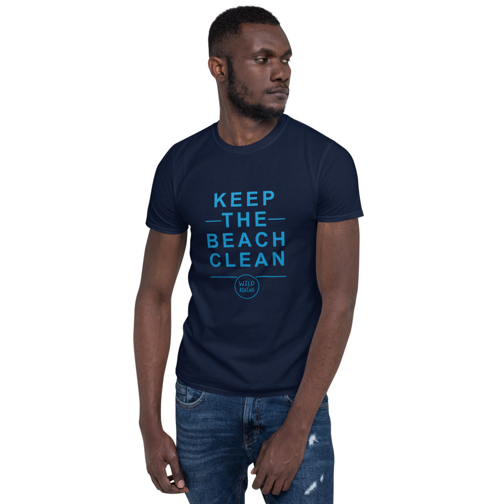 Keep the Beach Clean - Short-sleeve unisex t-shirt