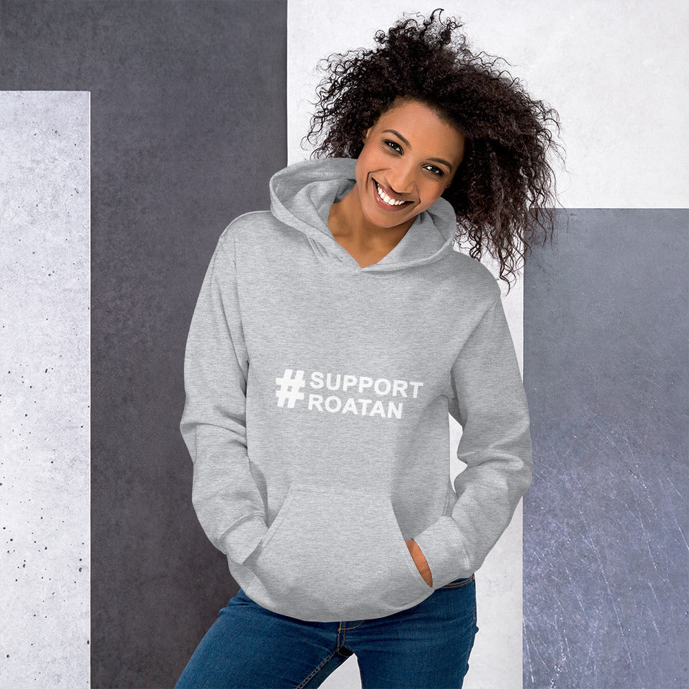 #supportroatan - Unisex hoodie
