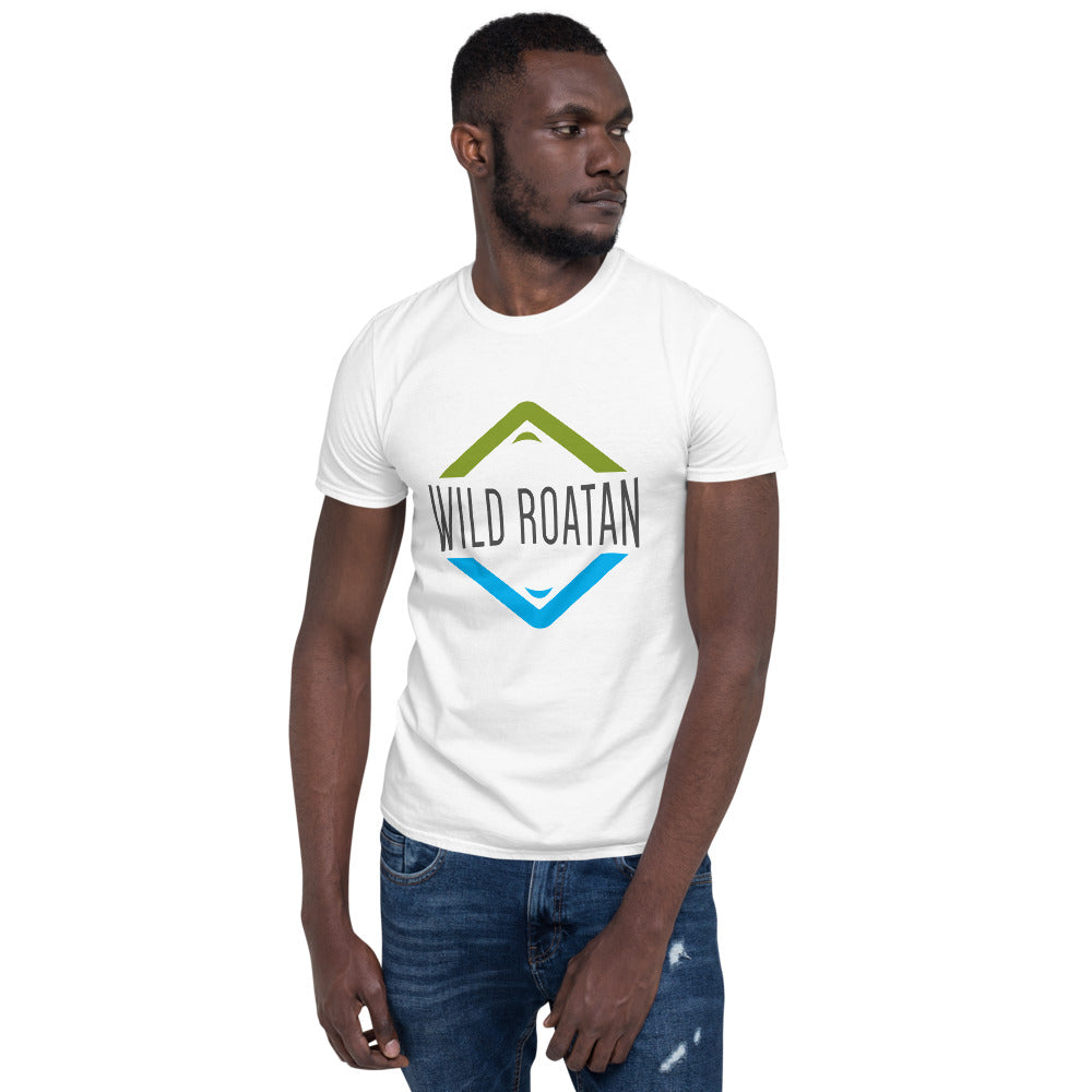 Mountain/Ocean - Short-sleeve unisex t-shirt