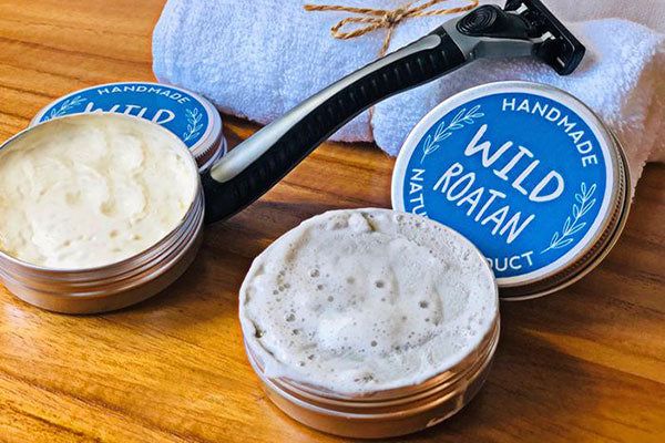 Handmade Natural Shaving Soap