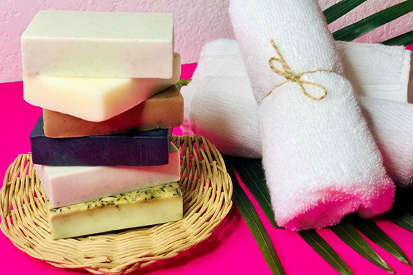 6 Pack - Large Natural Soaps