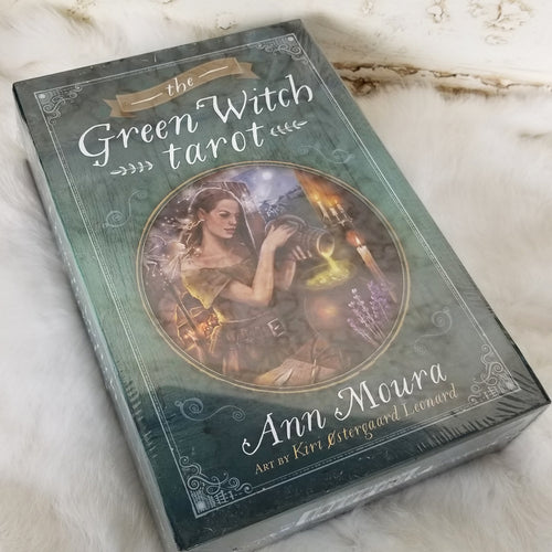 Green Witch Green Witch Tarot Deck & Book by Ann Moura