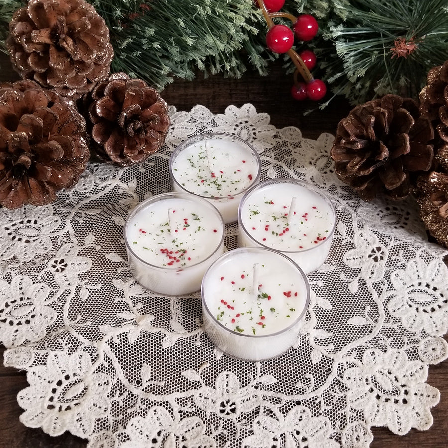 4 Lingonberry Spice Tealights