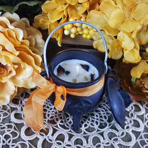 Autumn Magic Cauldron Candle