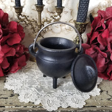 Black Cast Iron Cauldron