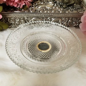 Cut Glass Vintage Dish