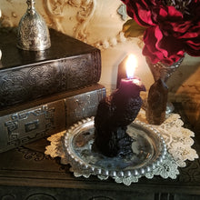 Raven Spirit Candle, Dark Goddess Candle, Morrigan Candle
