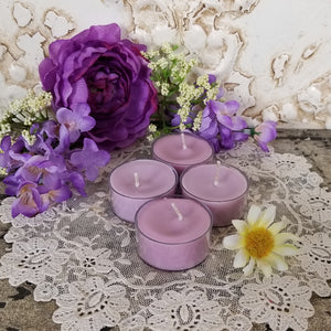 4 Black Cherry Tea Lights