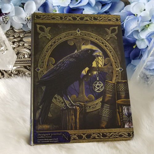 Raven with Pentacle  Journal