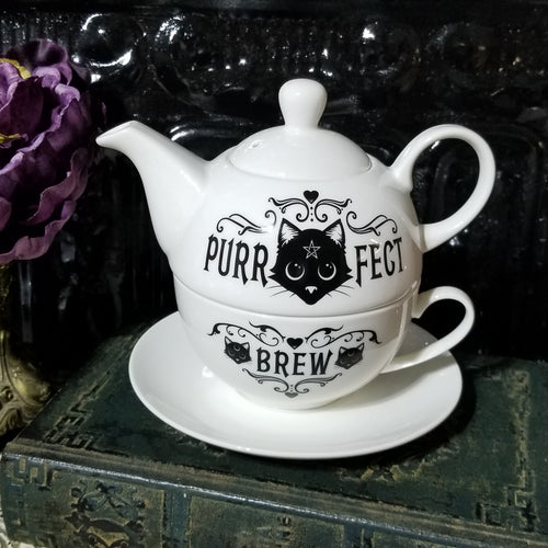 Purrfect Brew Teapot