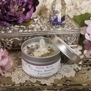 Cedar, Lavender and Sweet Grass Smudging Candle