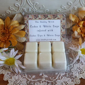 Cedar & White Sage Soy Melts