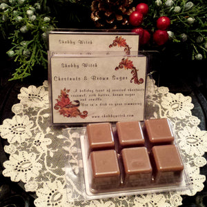 Chestnuts & Brown Sugar Soy Wax Melts