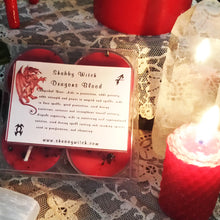 4 Dragons Blood Tea Lights