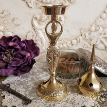 Goddess Brass Incense Burner