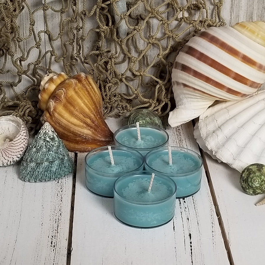 4 Sea Mist Tea Lights