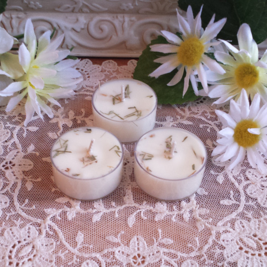 4 Van Van Tea lights