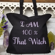 100% That Witch Tote Bag