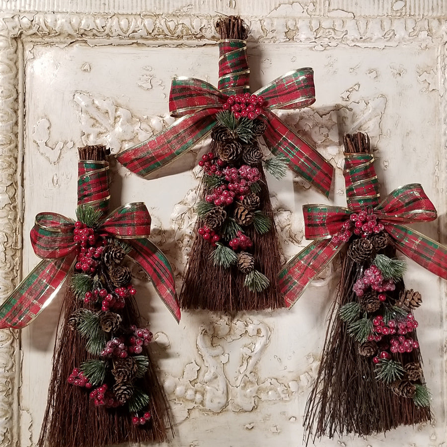 Yule Altar Broom