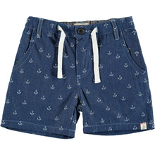 Load image into Gallery viewer, Anchor Chambray Shorts