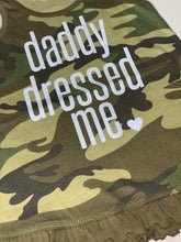 Load image into Gallery viewer, Camo - Daddy Dress