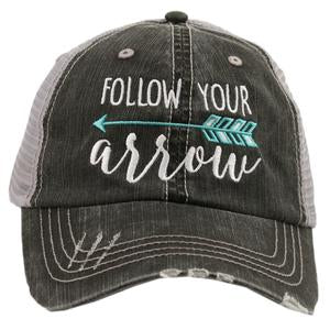 Follow Your Arrow Trucker Style Hats