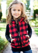 Load image into Gallery viewer, Mama and Me Plaid Vests