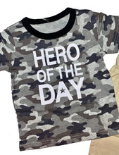 Load image into Gallery viewer, Camo Hero Shirt