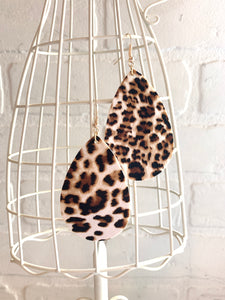 LaLa Leopard Earrings