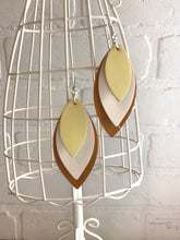Load image into Gallery viewer, Trio Leaf Earrings