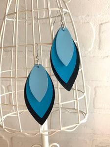 Trio Leaf Earrings