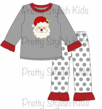 Load image into Gallery viewer, Santa Sibling PJ Collection