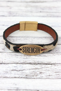 Leopard Strength Bracelet