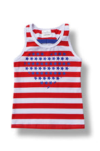 Load image into Gallery viewer, Patriotic Bow Tank