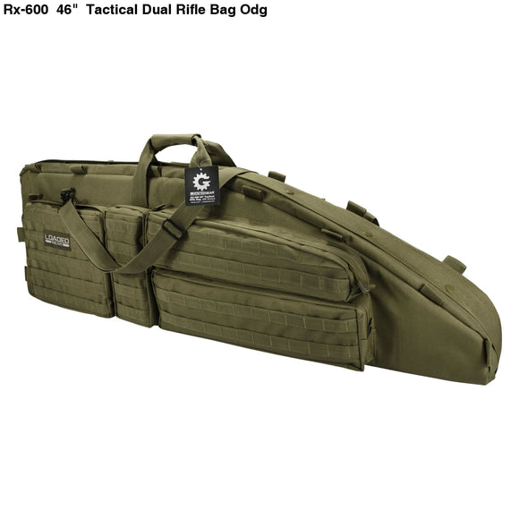 Camping & Hiking Charitable 40 Dual Rifle Gun Bag Tactical Rifle Sniper Carrying Case Gun Bag Bk