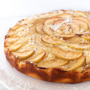 Apple Clafoutis Cake