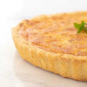 Asparagus & Goat Cheese Quiche