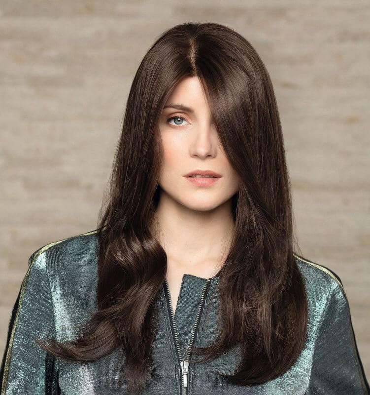 Exclusiv Light Long Human Hair Ladies Wig by Gisela Mayer